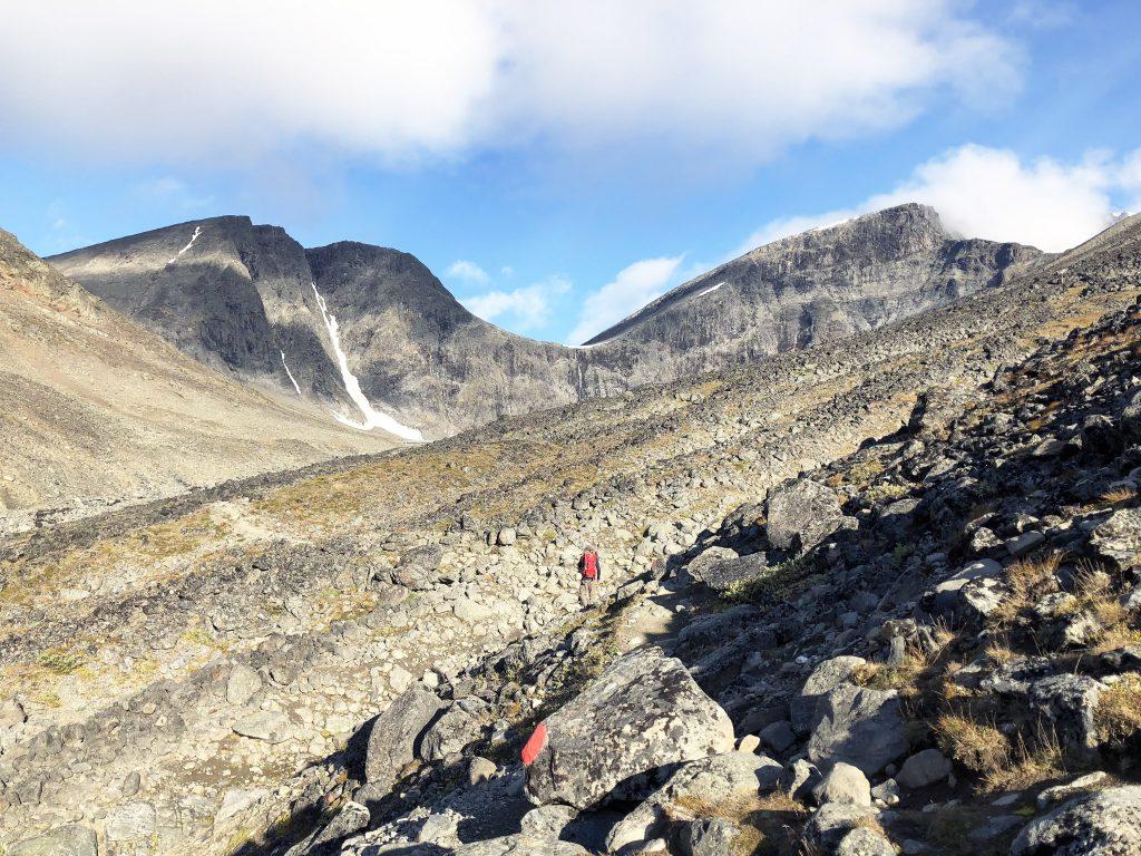 Mot Kitteldalen västra leden