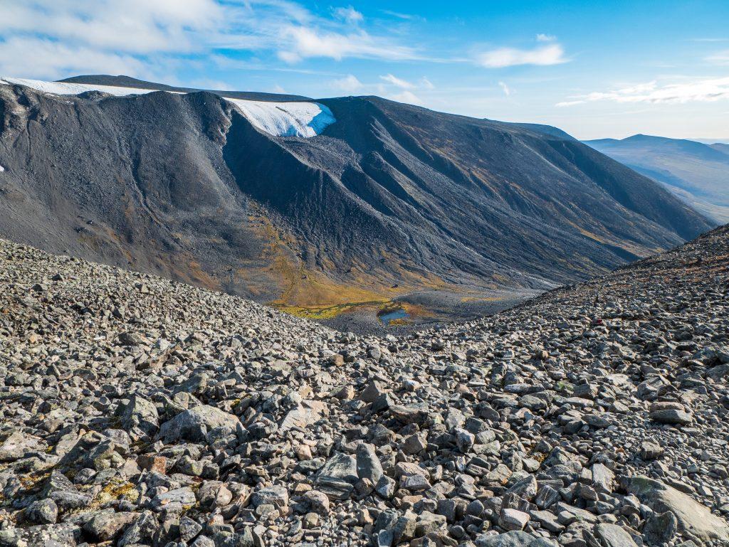 Västra leden mot Kitteldalen