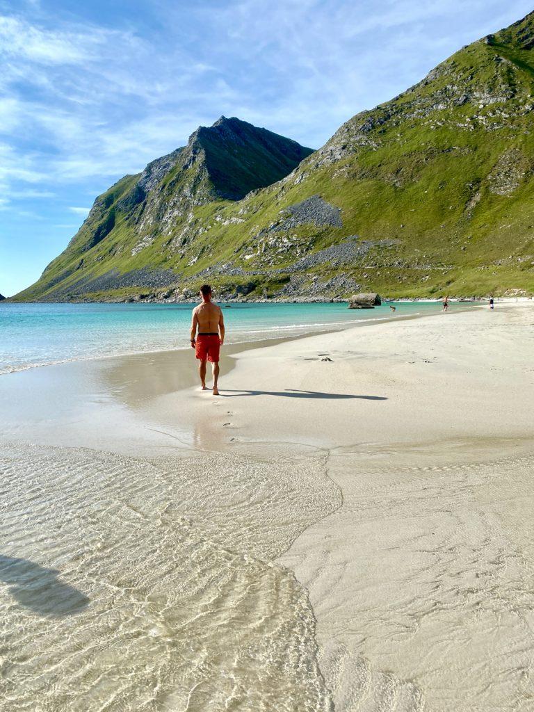 Hauklandstranda i Lofoten